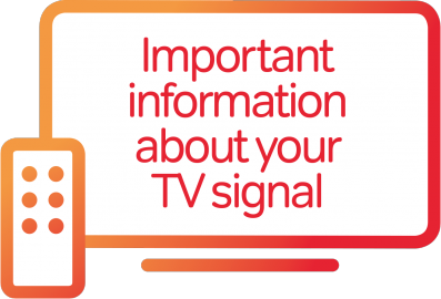 Information about your TV signal